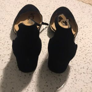 Sam Edelman Shoes - Sam Edelman Ankle Strap Block Heel Size 9